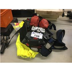 LOT OF ASSORTED FALL ARREST EQUIPMENT