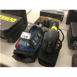 TWO BATTERY BOOSTERS AND AUTO ACCESSORIES