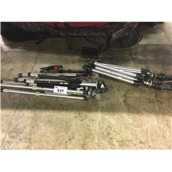 LOT OF ASSORTED TRIPODS/STANDS