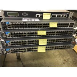 4X HP 52 PORT SWITCHES