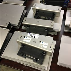 4X HP ELITEBOOK NOTEBOOK COMPUTERS WITH ADDITIONAL BATTERY PACKS