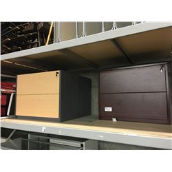 3 2 DRAWER LATERAL FILE CABINETS, MUST TAKE ALL