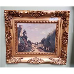 ORNATELY FRAMED PRINT