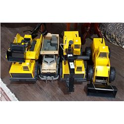 LOT OF 5 TONKA TOYS