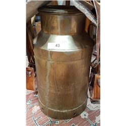 BRASS MILK CAN