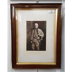 FRAMED PRINT OF GENERAL LORD ROBERTS