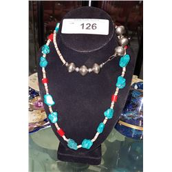 LOVELY TURQUOISE NECKLACE