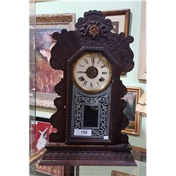 VINTAGE ANSONIA CLOCK CO. OF NEW YORK GINGERBREAD MANTLE CLOCK
