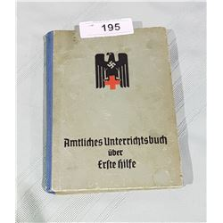 AUTHENTIC NAZI FIRST AID BOOK