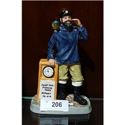 ROYAL DOULTON ALL ABOARD FIGURINE