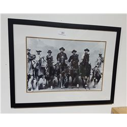 FRAMED PRINT OF THE MAGNIFICENT 7