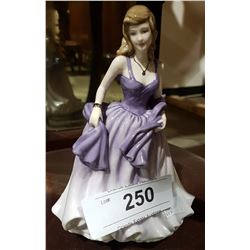 ROYAL DOULTON A MOMENT IN TIME FIGURINE