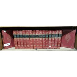 LOT OF 17 VOLUMES OF HARVARD CLASSICS DELUXE EDITIONS