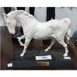 "BESWICK HORSE TITLED ""SPIRIT OF FREEDOM"""