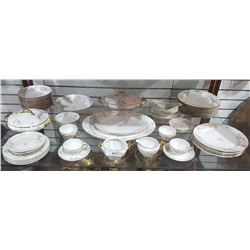 APPROX 50 PC SET LIMOGES CHINA