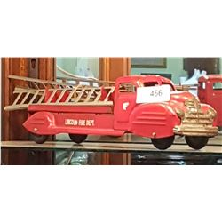 VINTAGE LINCOLN FIRE TRUCK