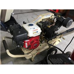 INGERSOLL RAND AIR COMPRESSOR WITH 9.0HP HONDA MOTOR