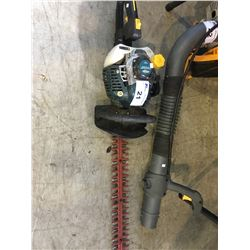 YARDWORKS GAS POWERED HEDGE TRIMMER