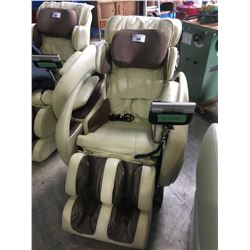 OSAKI OS4000 ZERO GRAVITY MASSAGE CHAIR - BEIGE