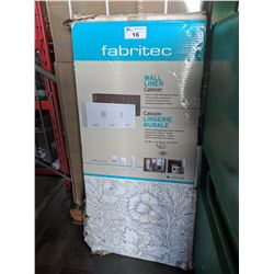 FABRITEC WALL LINEN CABINET IN BOX ( AS IS )