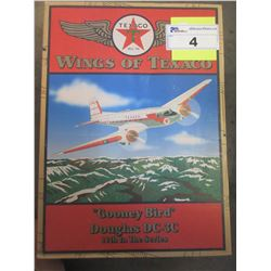 DC-C3 DOUGLAS DIE CAST METAL REPLICA WINGS OF TEXACO