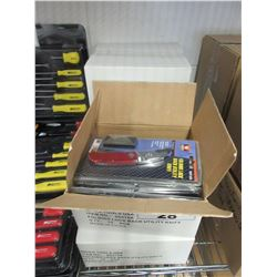 5 BOXES OF APPROX 50 NEW FOLDING UTILITY KNIVES