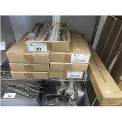 "7 BOXES OF NEW WIRE BRUSHES & LEG STAND FOR 10"" TABLE SAW"