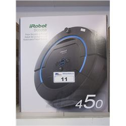 IROBOT SCOOBA FLOOR SCRUBBING ROBOT (MISSING PARTS)