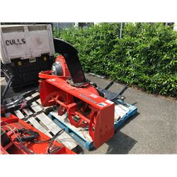 KUBOTA MODEL F5220 SNOW BLOWER ATTACHMENT