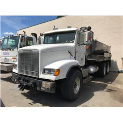 1992 FREIGHTLINER ASPHALT PATCHER, WHITE, VIN # 2FVX3LY95NV399863