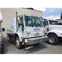 2003 ELGIN SC-8000 SWEEPER, WHITE, VIN # 49HAADBVX3DL71485