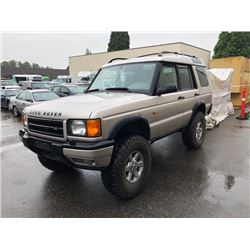1999 LAND ROVER DISCOVERY II SERIES VIN SALTY1243XA220550, 189,820 KMS,