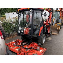 2007 JACOBSEN HR9016 RIDE ON MOWER, ORANGE, DIESEL, SERIAL#7052801775, RADIO, 5956 HOURS, HAS