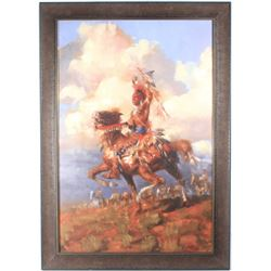 Andy Thomas Giclee American West Painting
