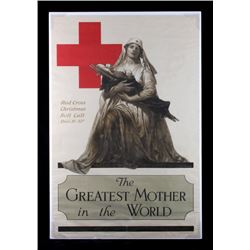 Original WWI American Red Cross Poster