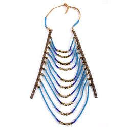Blackfoot Indian Beaded Breast Plate