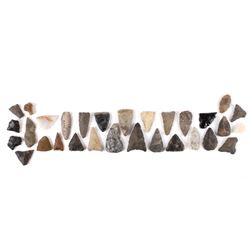 Collection of Native American Indian Points
