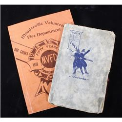 Early Montana Firefighter Association Yearbooks