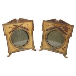 1917 WWI Cast Iron Springfield 1903 Picture Frames