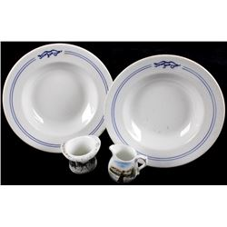 Montana German & American China Ware c. 1890's-