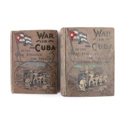 War in Cuba 1st Edition w/ Salesman Sample 1896