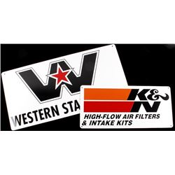 Western Star Trucks & K&N Filter Advertising Signs