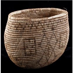 Northwest Coast Geometric Motif Basket