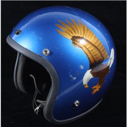 Vintage Delgado Bald Eagle Open Face Helmet