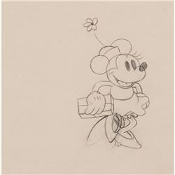 """""""Minnie Mouse"""" production drawing from Building a Building."""