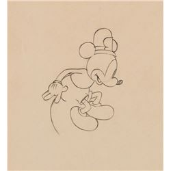"""""""Mickey Mouse"""" production drawing from The Dognapper."""