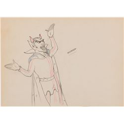 """""""Pluto"""" production drawing from The Goddess of Spring."""