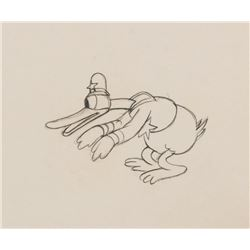 """""""Donald Duck"""" production drawing from The Dognapper."""