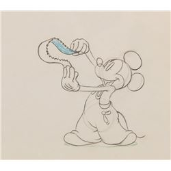 """Mickey Mouse"" production drawing from Mickey's Elephant."