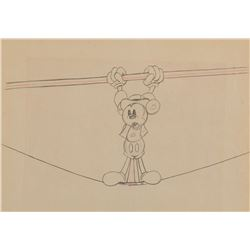 """Mickey Mouse"" production drawing from Mickey's Circus."